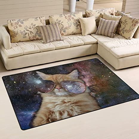 XiangHeFu - Alfombras para Comedor o Dormitorio con Espacio Decorativo para Gatos de 5 x 2