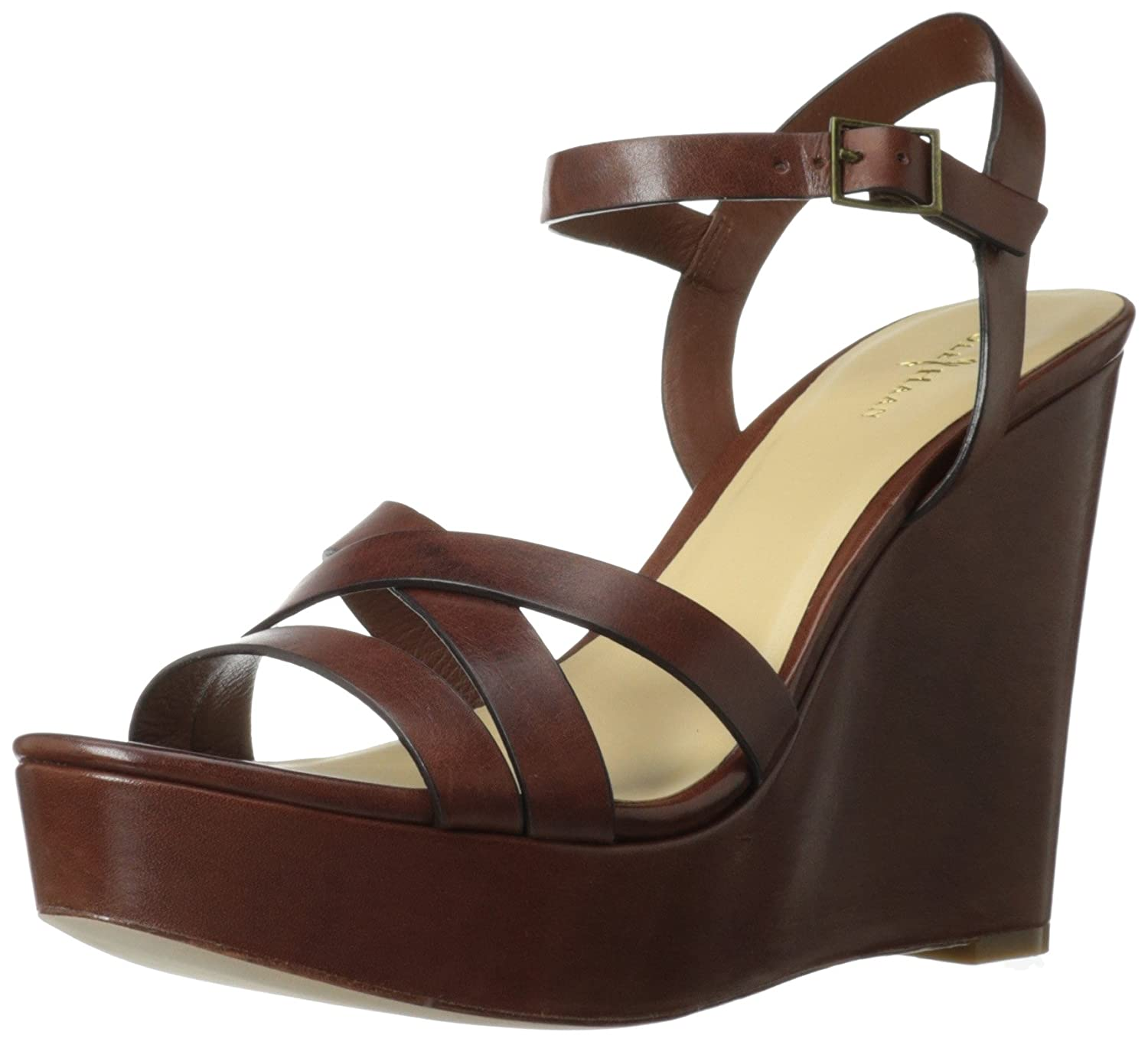 Cole Haan Women's Melrose Wedge Sandal B00EKAZIQM 9.5 B(M) US|Sequoia