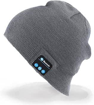 Unisex Bluetooth Gorra, Bluetooth Beanie Música Sombrero con ...