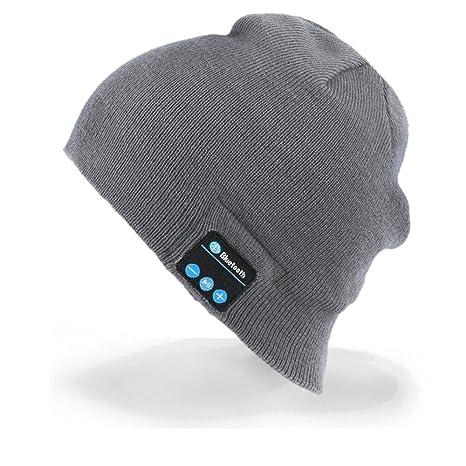Cappello Bluetooth Bluetooth Music Hat Inverno Berretto lavorato a maglia  Berretto per corsa Sport all  6e41fca9acbf