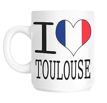 Love Heart Inscription I Mug Toulouse Shaniztoons Avec France 6f7Ybgyv