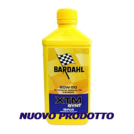 Aceite Motor moto Bardahl XTM synt 20 W50 4T – 1 Litro
