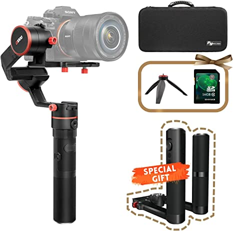 FeiyuTech A1000 Dual Handheld Gimbal Kit, Compatible con Nikon ...
