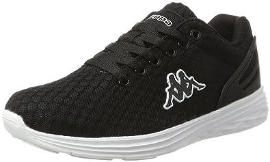 Unisex-Erwachsene Trust 1.2 Sneaker, Schwarz (1110 Black/White), 40 EU Kappa