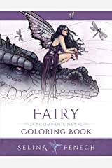 Fairy Companions Coloring Book - Fairy Romance, Dragons and Fairy Pets (Fantasy Art Coloring by Selina) (Volume 4)