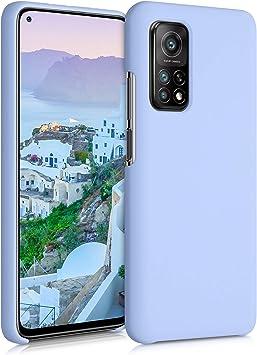 Mi 10T Pro Protector Trasero en Gris fr/ío kwmobile Funda Compatible con Xiaomi Mi 10T Carcasa de TPU Silicona