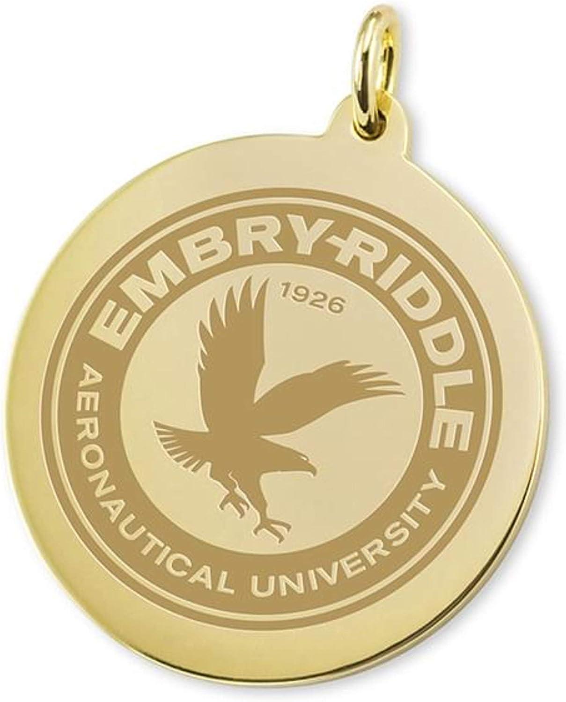 M LA HART Embry-Riddle 14K Gold Charm