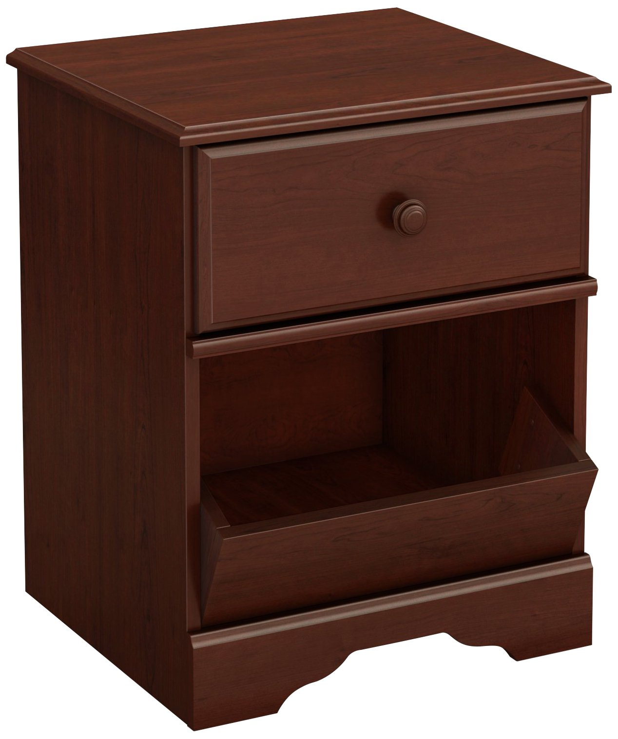 South Shore Little Treasures 1-Drawer Night Stand, Royal Cherry