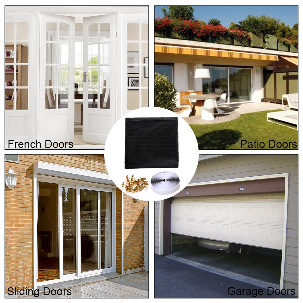 Magnetic Screen Door For French Doors Sliding Glass Doors Patio