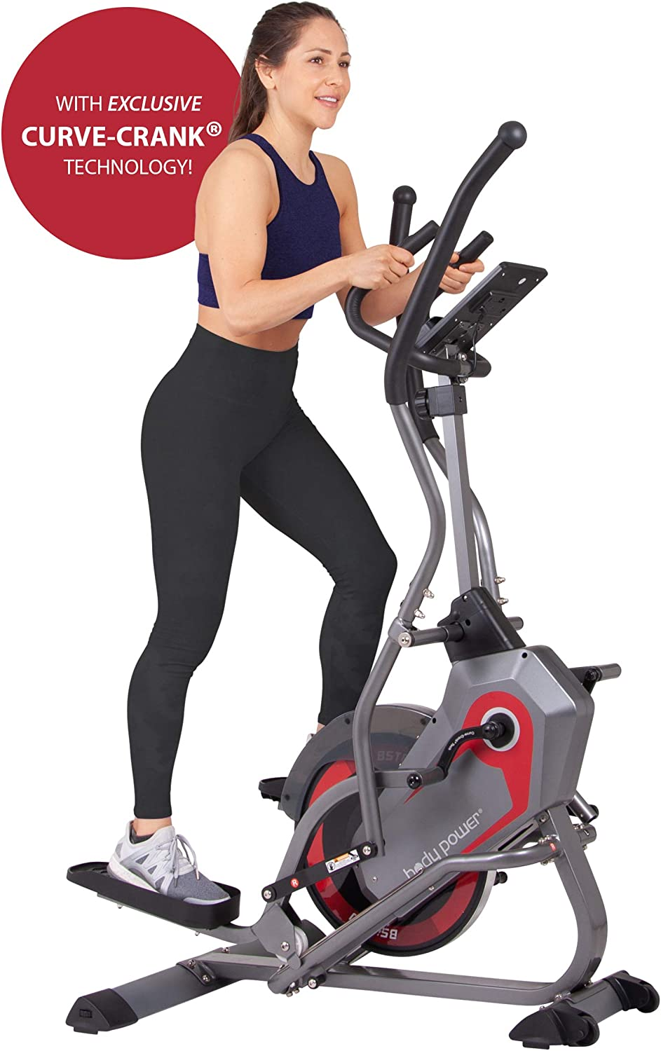 Body Power 2-in-1 Elliptical Stepper