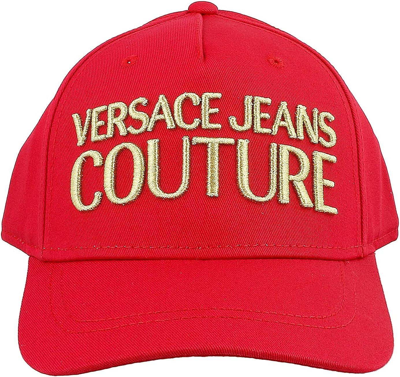 Versace Casquette Noir E8YZAK12 3 Linea Uomo Cup DIS