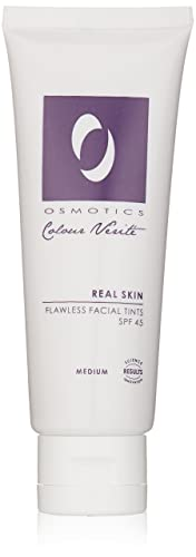 Osmotics Cosmeceuticals Real Skin SPF 45 Flawless Facial Tint, Medium, 1.7 oz.