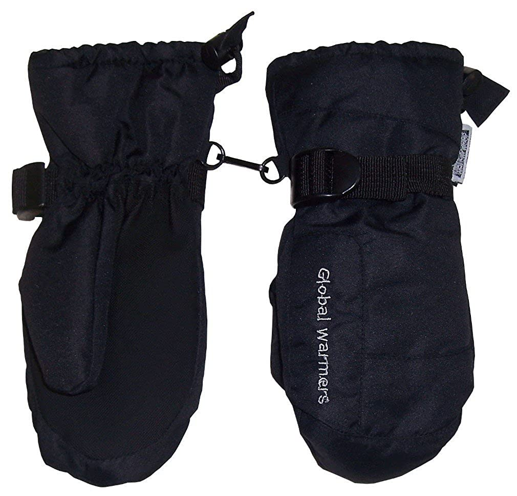 NIce Caps Womens Solid And Colorblocked Puffy Waterproof Ski Mittens 4522