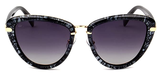 "72d1dd34f762 PRIVÉ REVAUX ICON Collection ""The Monet"" Designer Polarized Cat-Eye  Sunglasses"