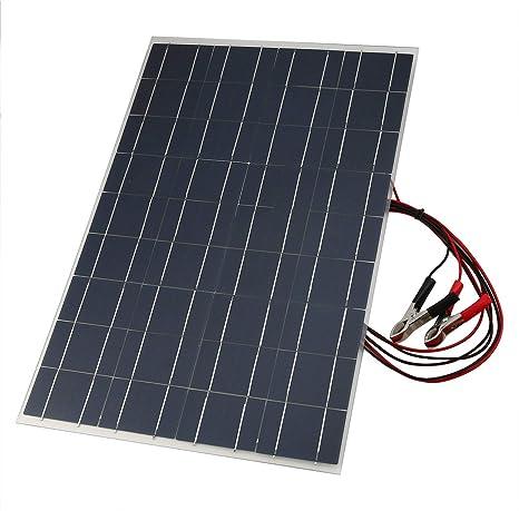 Ba30DEllylelly 18V 30W Cargador solar de batería de coche ...