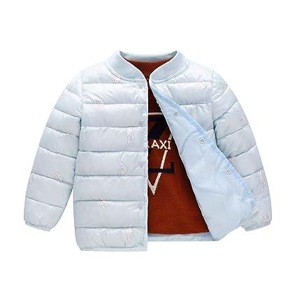 72049b6bc038 Amazon.com   NOMSOCR Toddler Kid Boys Winter Down Jacket Coat Cotton ...