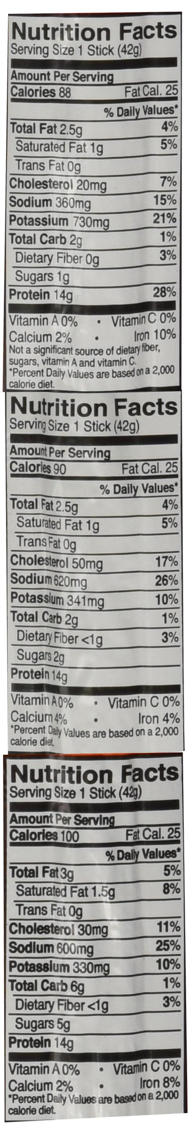 Ostrim High Protein Snack Beef & Elk and Turkey Sticks Variety Pack of 20 by Ostrim (Image #3)
