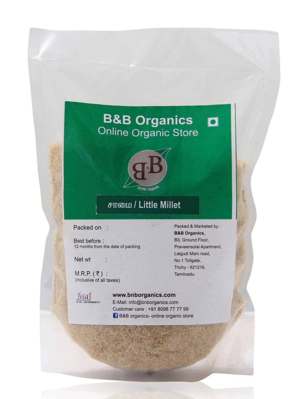 B&B Organics Little Millet 1 kg