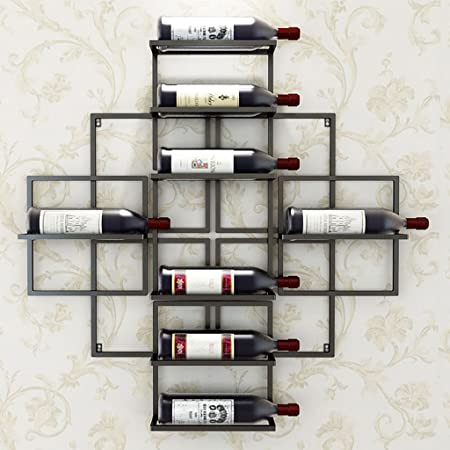 Btjj Simple And Modern Wall Mounted Wine Rack Home Restaurant Wall