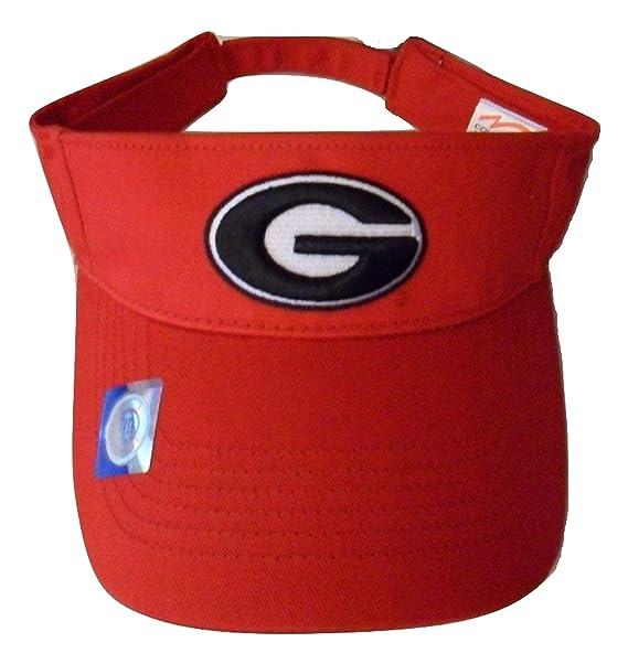 88ceb49c6b9 Georgia Bulldogs Adjustable Logo Visor