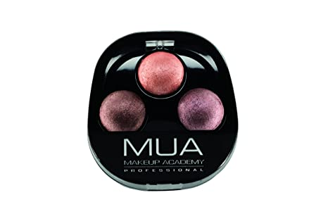 Buy Makeup Academy Trio Baked Eyeshadow Palette Chocolate