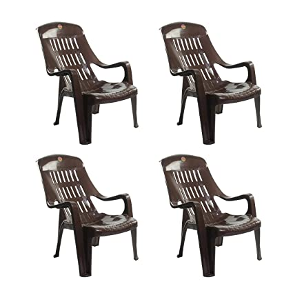 Prime Cello Comfort Sit Set Of 4 Chairs Brown Cjindustries Chair Design For Home Cjindustriesco