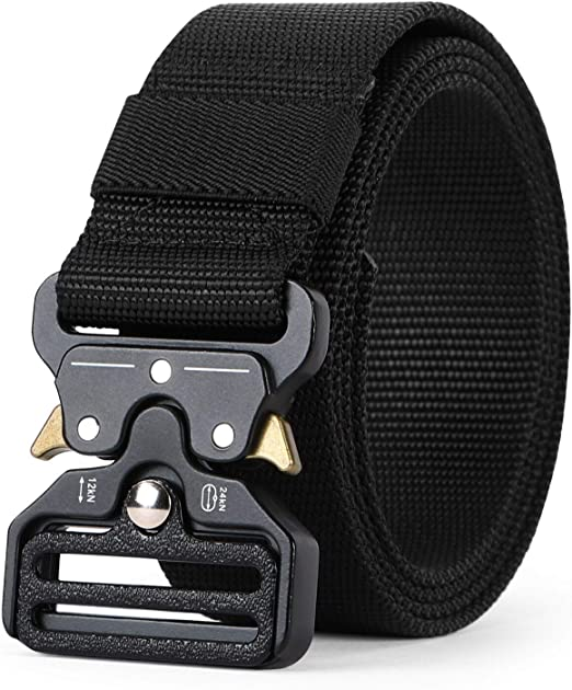 Tactical Belt Nylon Waist Belt Quick Release Outdoor Safety Webbing Riggers Belt