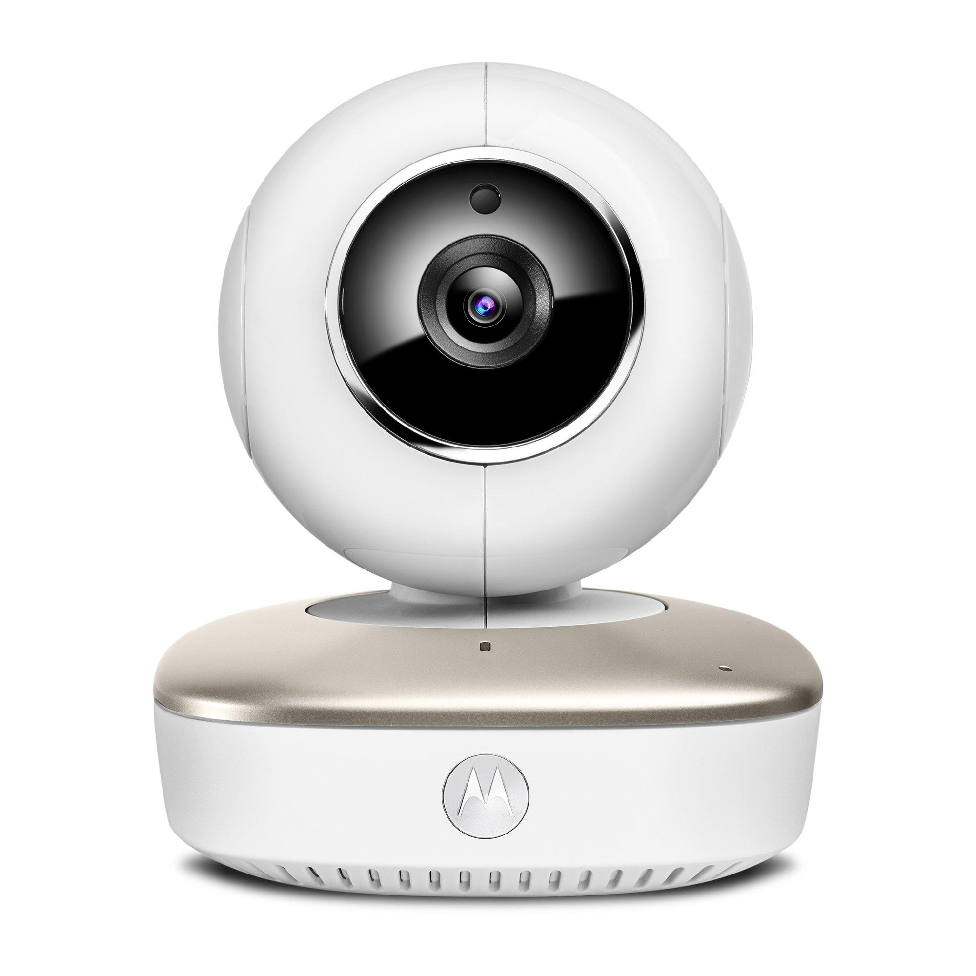Exclusive] Motorola Smart Nursery Cam Portable Wi-Fi Video Baby Monitor Camera