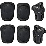 Knee Pad , GIM Kid's Protective Gear Set Knee Elbow Pads Wrist Support for Child Roller /Skating/ BMX /Bike /Skateboard