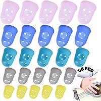 Protección De Dedos De Guitarra 50 Piezas Guitarra De Silicona Con Protección Protectores De Dedos De Guitarra Silicona…