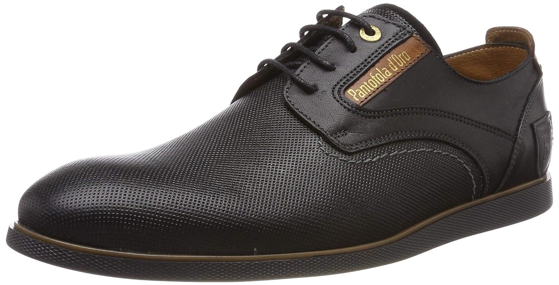 TALLA 41 EU. Pantofola d'Oro Urbino Uomo Low, Zapatos de Cordones Derby para Hombre