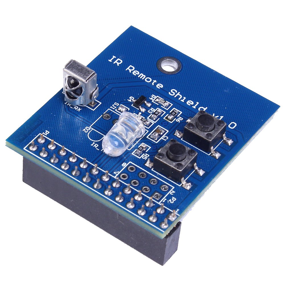 Icstation 38khz Ir Infrared Remote Control Transceiver Controlled Toy Car Circuit With Module Shield For Raspberry Pi 2 3 B Industrial Scientific