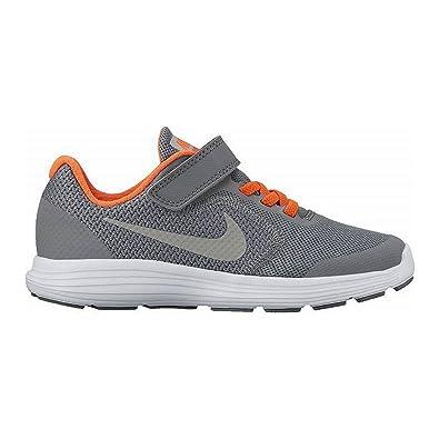 Nike Revolution 3 (PSV) 819414 012 Jungen Klettverschluss/Slipper ...