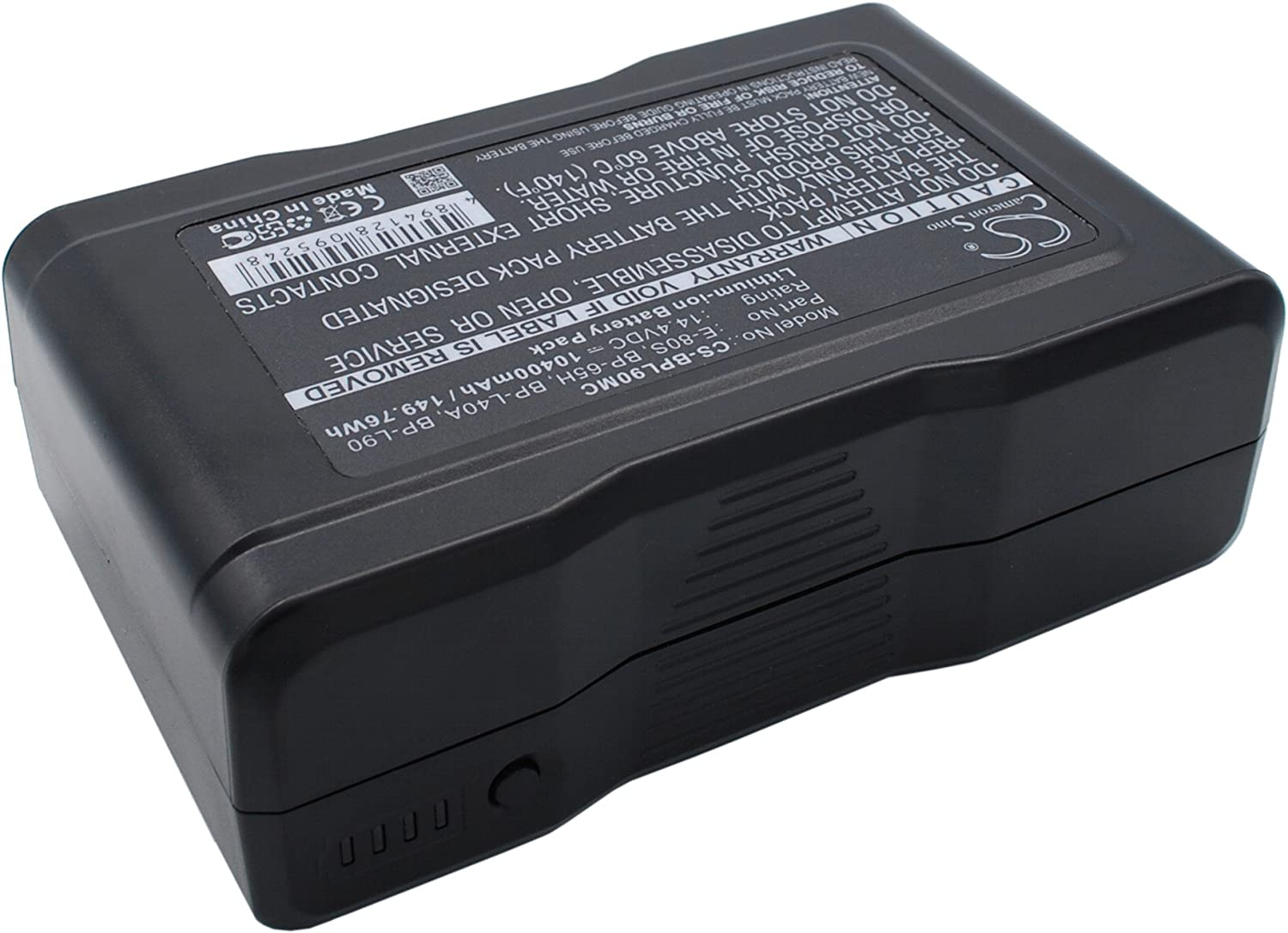 E-80 E-80S 10400mAh Battery for IDX BP-65H