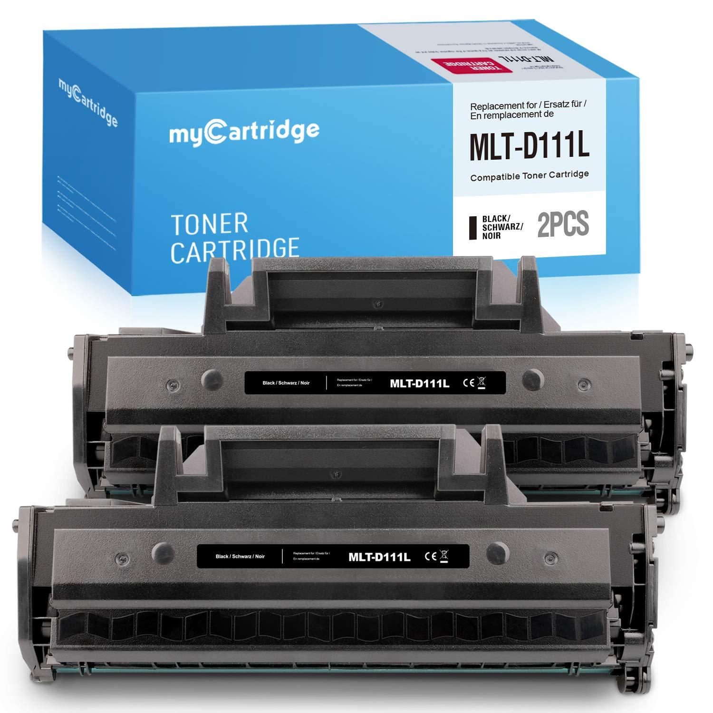 MyCartridge Compatible con MLT D111S D111L Toner para Samsung ...