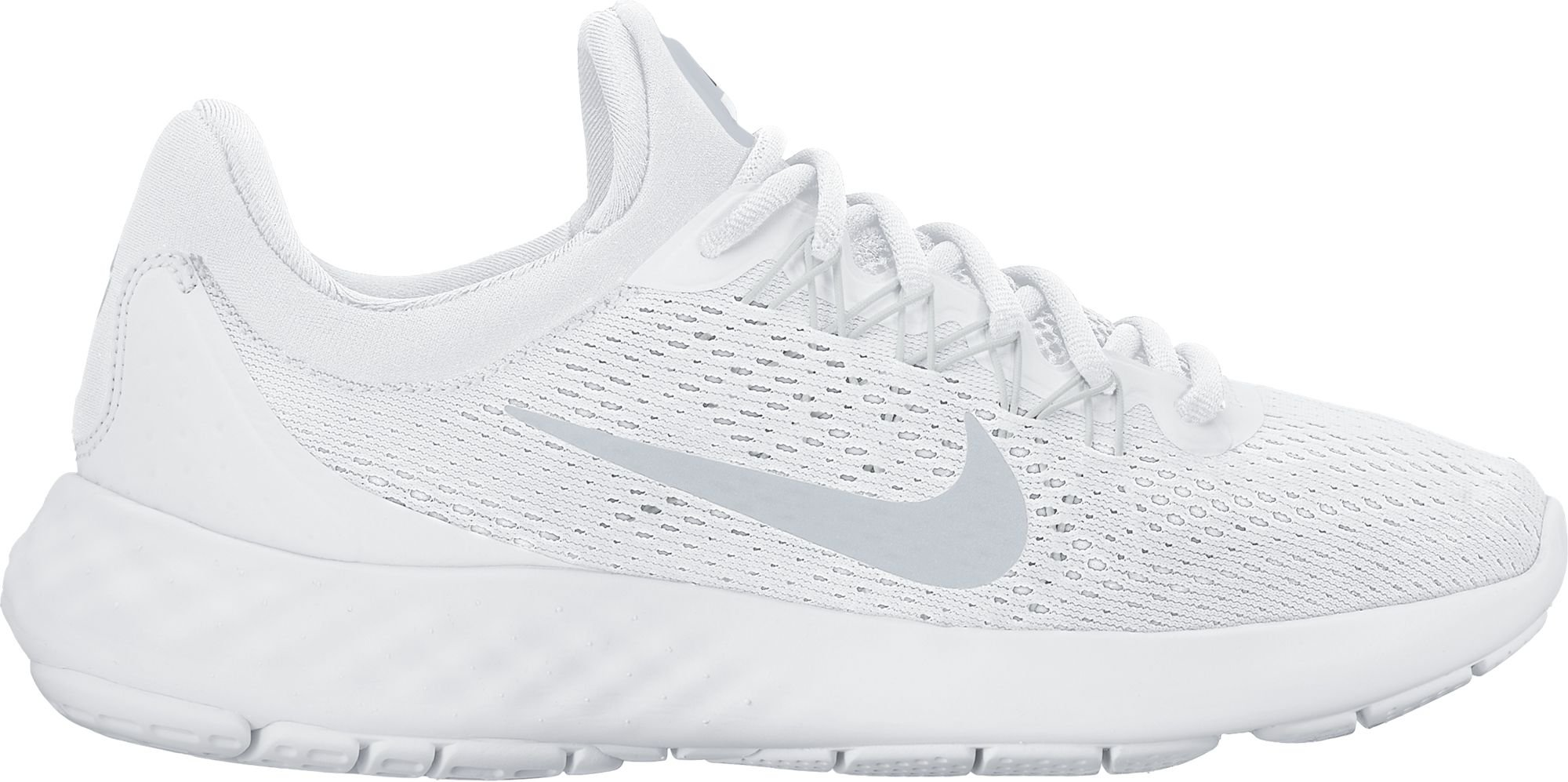 83a6037c125d Galleon - Nike Women s Lunar Skyelux White Pure Platinum Off White Running  Shoe (7)