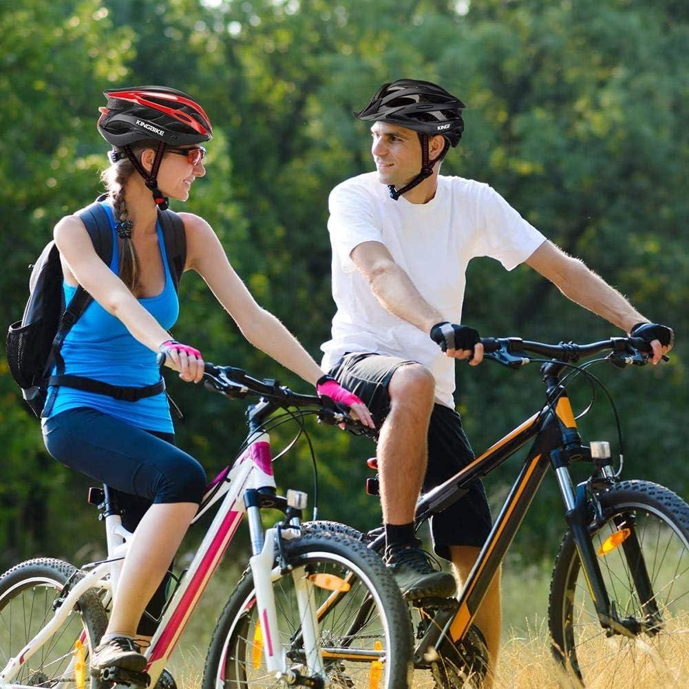 Terynbat Casco De Bicicleta-020 Bicicleta De Carretera Y Monta/ña De Una Pieza Deportes Y Ocio Casco De Conducci/ón De Ventilaci/ón Ajustable