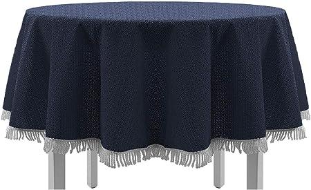 Tischdecke Excellent für runde und eckige Tische Bodenlang