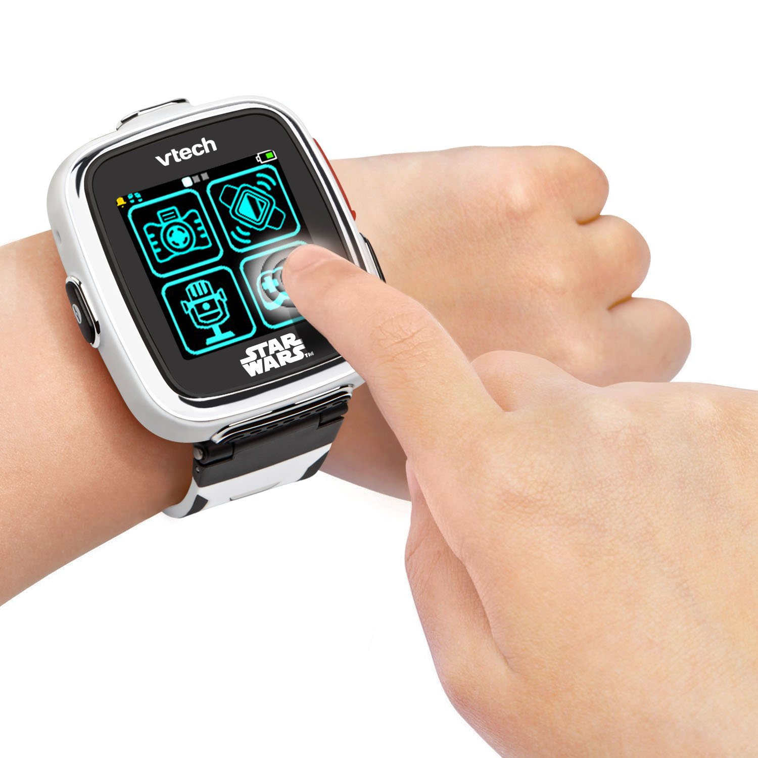 VTech Star Wars First Order Stormtrooper Smartwatch with Camera Amazon Exclusive, White by VTech (Image #5)