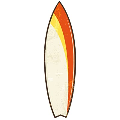 ROOMMATES RMK1788GM Surfs Up Dry Erase Peel and Stick Giant Wall Decals: Home Improvement