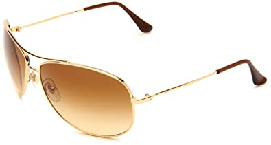 ray ban 3293  Ray Ban Rb3293 Gold Frame/Light Brown Gradient Lens Metal ...