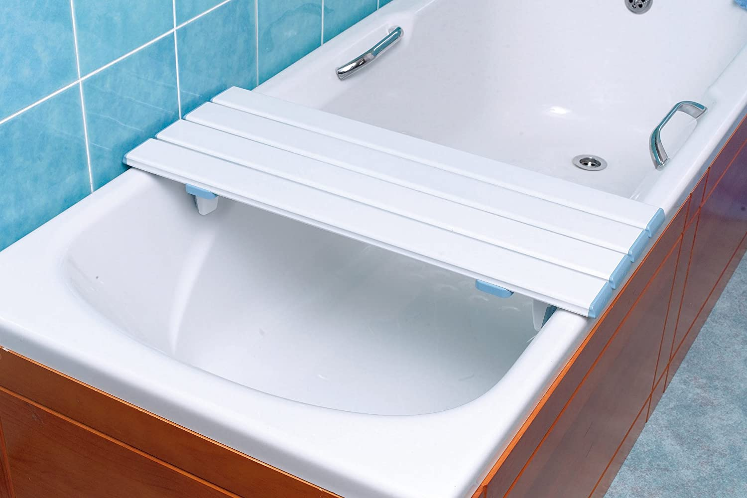 NRS Healthcare Nuvo Slatted Bath Board - 67 cm (26.5 inches) Length ...
