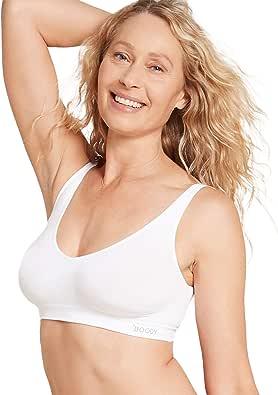 Boody Body EcoWear Women's Shaper Bra - Seamless Cooling, Light Support