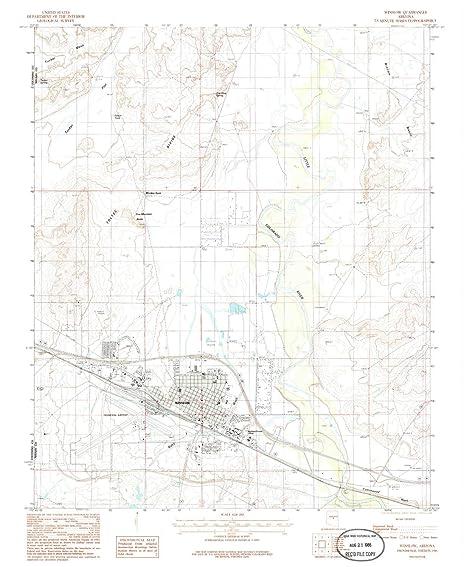 Amazon Com Yellowmaps Winslow Az Topo Map 1 24000 Scale 7 5 X