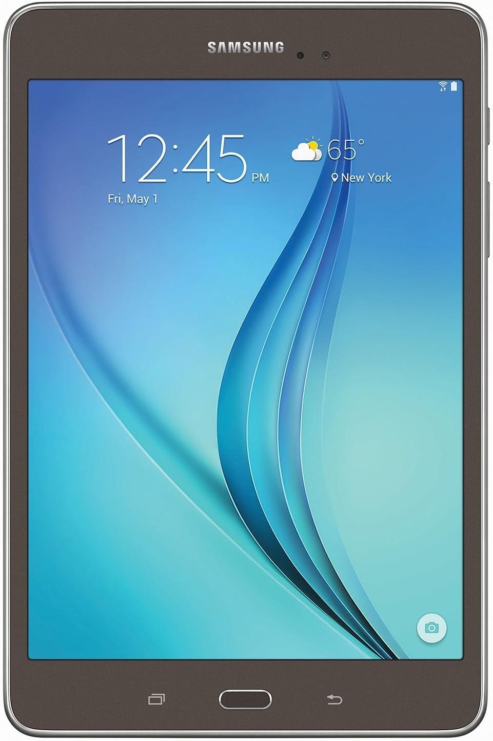 "Samsung Galaxy Tab A 8.0"" 16GB Smoky Titanium - SM-T350NZAAXAR"