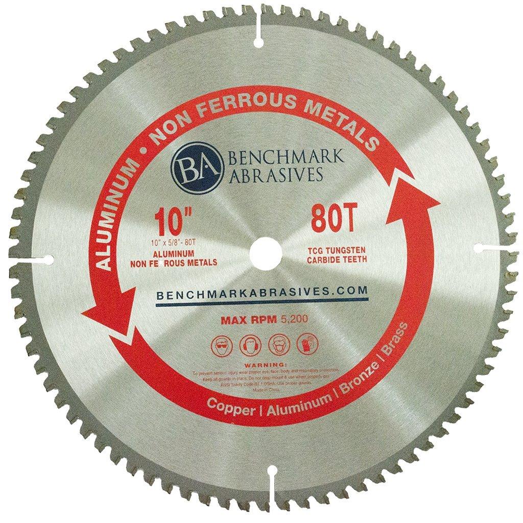 10'' x 5/8'' 80 Teeth TCT Saw Blade for Aluminum & Non-Ferrous Metals
