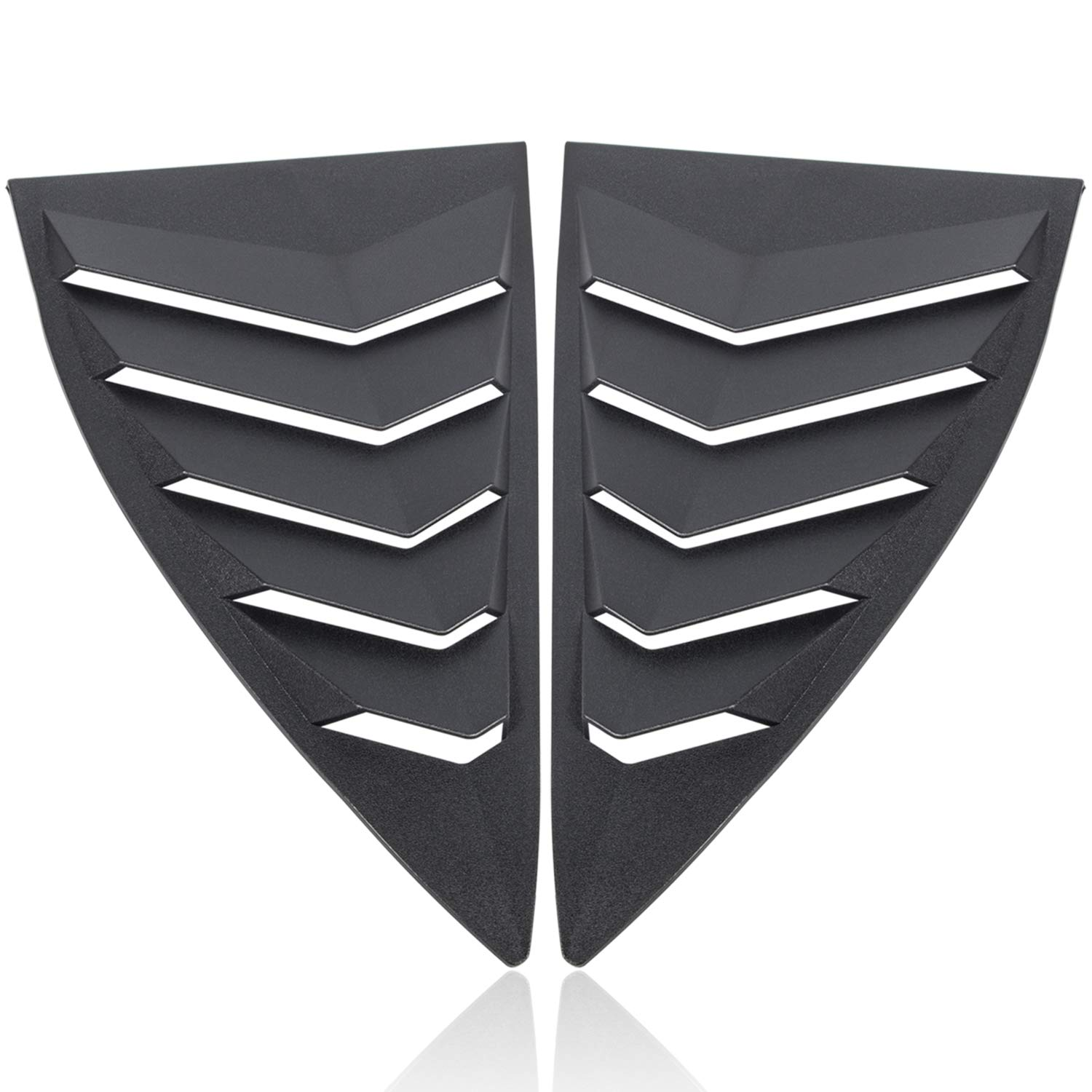 Camoo GT Styling Quarter Side Window Louvers for 2010-2015 Camaro