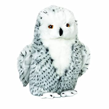 Amazon Com Nat And Jules Watchful Large Snowy Owl Children S Plush