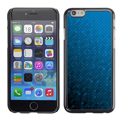 Koko Case Apple Iphone 6 Sfondo Blu Sfumato Colore Casuale