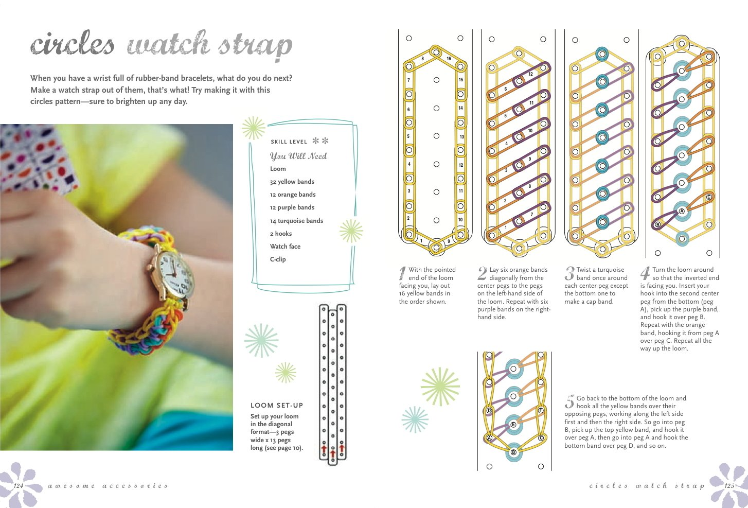Rubber band bracelets 35 colorful projects youll love to make rubber band bracelets 35 colorful projects youll love to make lucy hopping 9781782491590 amazon books fandeluxe Images